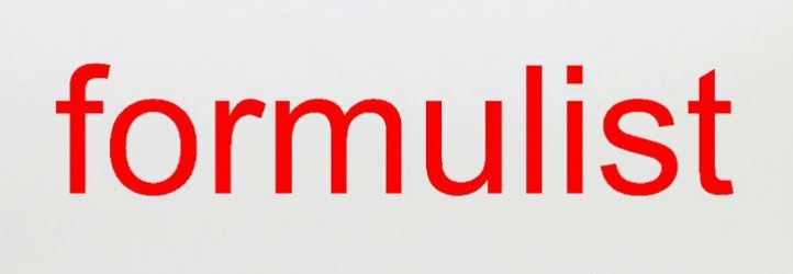 FORMULIST